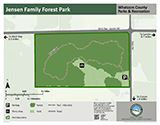 Jensen Family Forest Park map icon 125x160