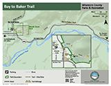 Bay to Baker Trail map icon 160x124