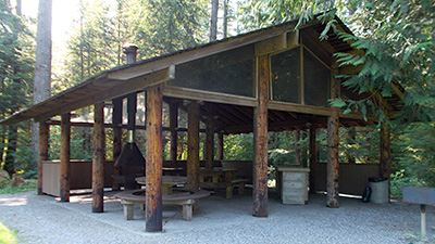 North Red Mountain Picnic Shelter Exterior 2