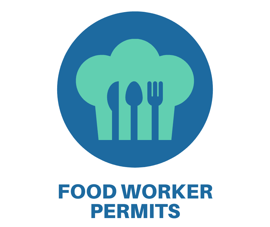 link to apply for a food worker permit